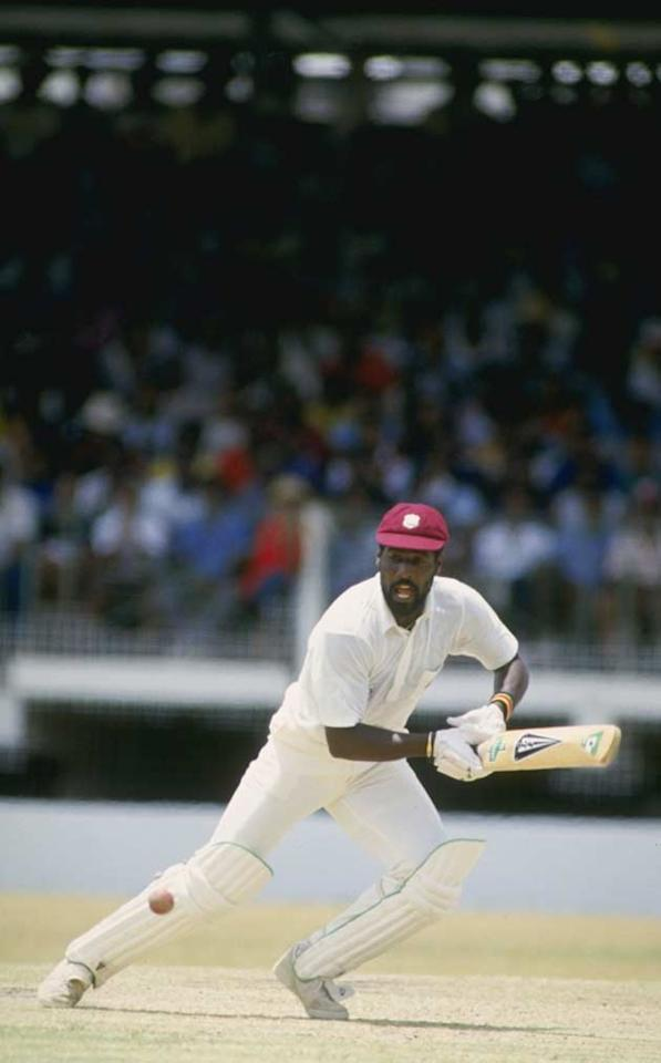 Vivian Richards of the West Indies holds the record for the fastest Test century. On april 15, 1986, Against England in the Antigua Test, Richards made a 56-ball ton, (110 not out, 58b, 7x7, 7x6), helping his team complete a 5-0 sweep.