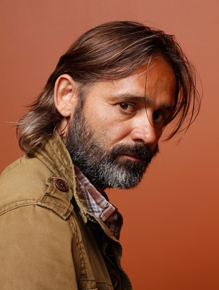 """TORONTO, ON - SEPTEMBER 08:  DirectorBaltasar Kormákur of """"The Deep"""" poses at the Guess Portrait Studio during 2012 Toronto International Film Festival on September 8, 2012 in Toronto, Canada.  (Photo by Matt Carr/Getty Images)"""