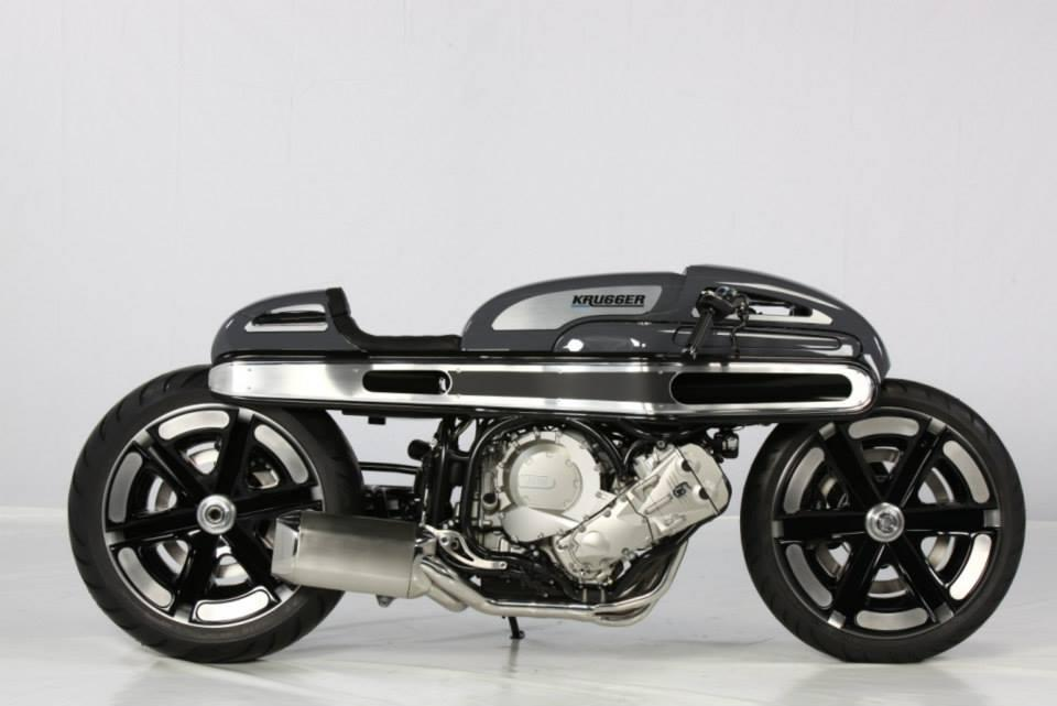Top prize goes to Belgian builder Krugger Motorcycles