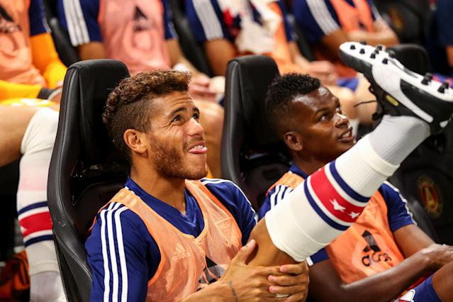 Is Gio dos Santos on his way out of Los Angeles? (Getty)