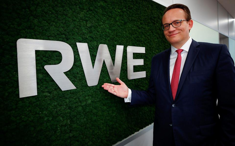 Markus Krebber took the reins at RWE after nearly half a decade as its finance boss - REUTERS/Wolfgang Rattay