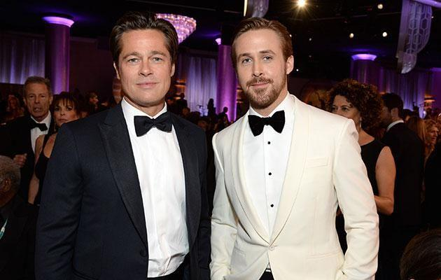 Posing with Ryan Gosling and not looking especially healthy. Source: Getty