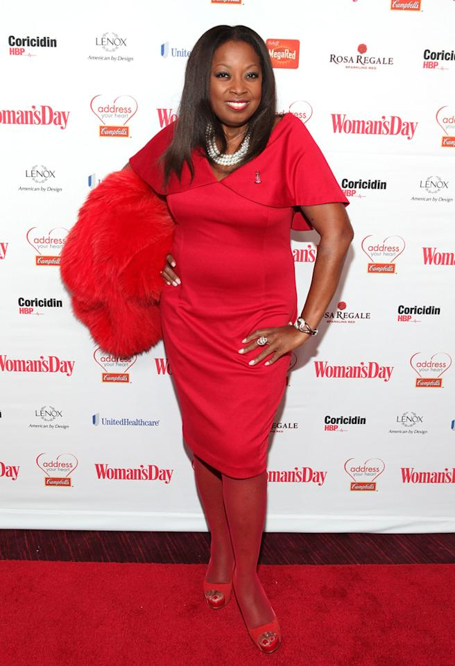 NEW YORK, NY - FEBRUARY 12:  Star Jones attends the 10th Annual Red Dress Awards at Jazz at Lincoln Center on February 12, 2013 in New York City.  (Photo by Roger Kisby/Getty Images)