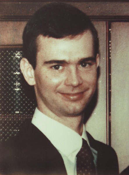 FILE - This undated file photo shows Bronx Assistant District Attorney Sean Healy. Healy was killed inside a grocery store a block from the courthouse in August 1990. He was buying a box of doughnuts when a car pulled up outside and its occupants fired seven or eight shots as part of a drug turf war. Jose Diaz was sentenced to 15 years to life for second-degree murder; Ernesto Garcia got 4 to 12 years for manslaughter. (AP Photo/File)