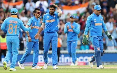 <span>India are favourites to triumph on Sunday</span> <span>Credit: ap </span>