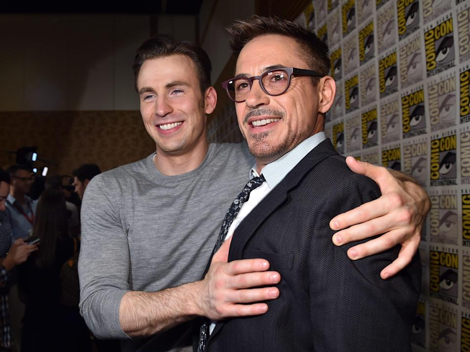 chris evans robert downey jr hall h