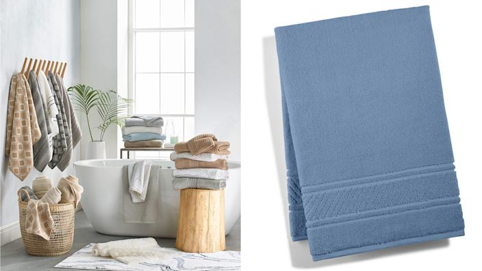 Grab bath towels from a super low price at Macy's.