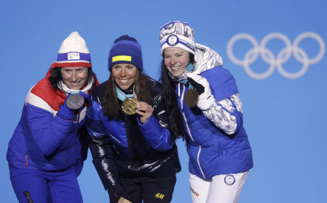 Sweden took the gold, Norway claimed history. (AP)