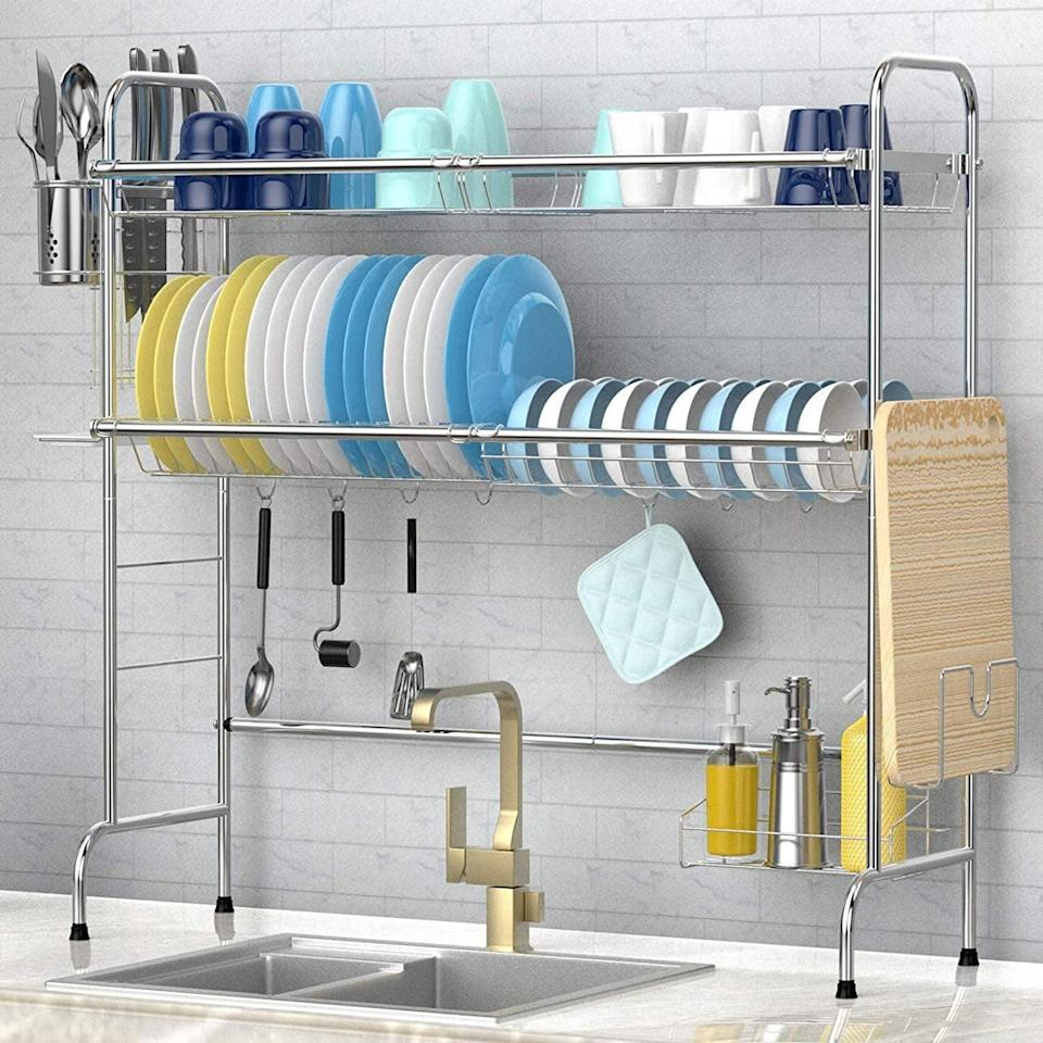 <p><span>Veckle Dish Drying Rack</span> ($54, originally $67)</p>