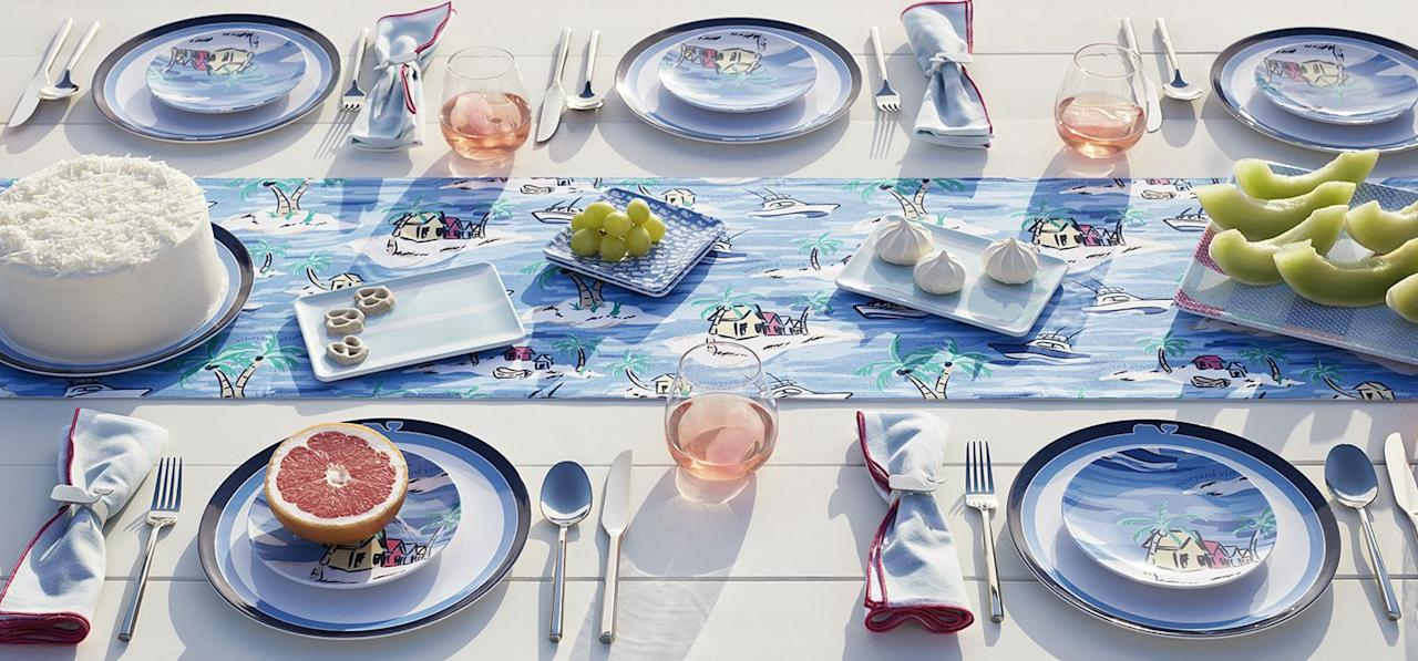 "<p>Preppy-inclined homeowners, rejoice. The <a href=""https://www.target.com/c/vineyard-vines-for-target-decor/-/N-diyxo?lnk=Decor&Nao=0"" target=""_blank"">Target x Vineyard Vines</a> collaboration has officially hit stores, and our carts are already overflowing. The collection, which includes home, outdoor, apparel, accessories, kids, and pet categories, reflects the classic Vineyard Vines aesthetic, underscored by Target's ever-stylish curatorial finesse. </p><p>Prices range from $2-$120—with most pieces under $35—and many of the<a href=""https://www.elledecor.com/content/outdoor-decor/"" target=""_blank""> home and outdoor</a> items are a first for Vineyard Vines. From nautical table settings to pattern-punched outdoor decor, each piece conjures feelings of summer, setting the perfect backdrop to your most stylish gatherings. </p><p>Read below for some of our favorite pieces that we're shopping right now, and shop the entire collaboration <a href=""https://www.target.com/c/vineyard-vines-for-target-decor/-/N-diyxo?lnk=Decor&Nao=0"" target=""_blank"">here</a>.</p>"