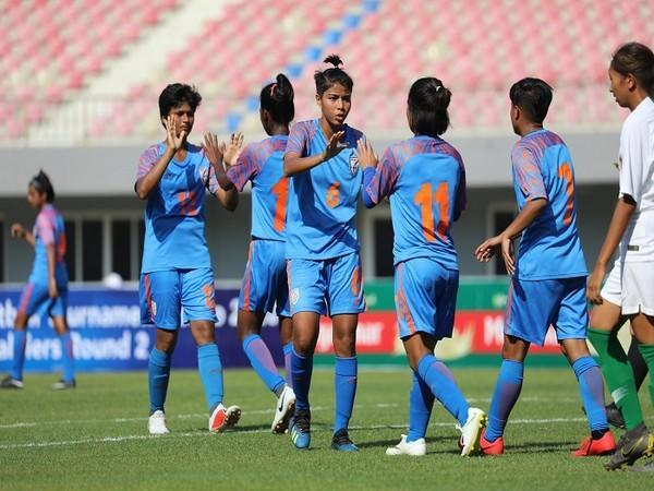 Indian women's team will face Serbia on February 17 (Image: AIFF)