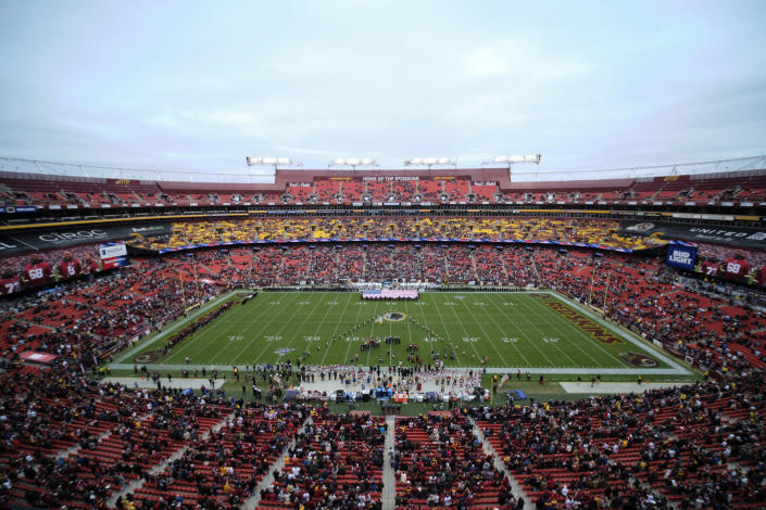 FedEx Field will see some changes this fall. (AP Photo/Mark Tenally, File)