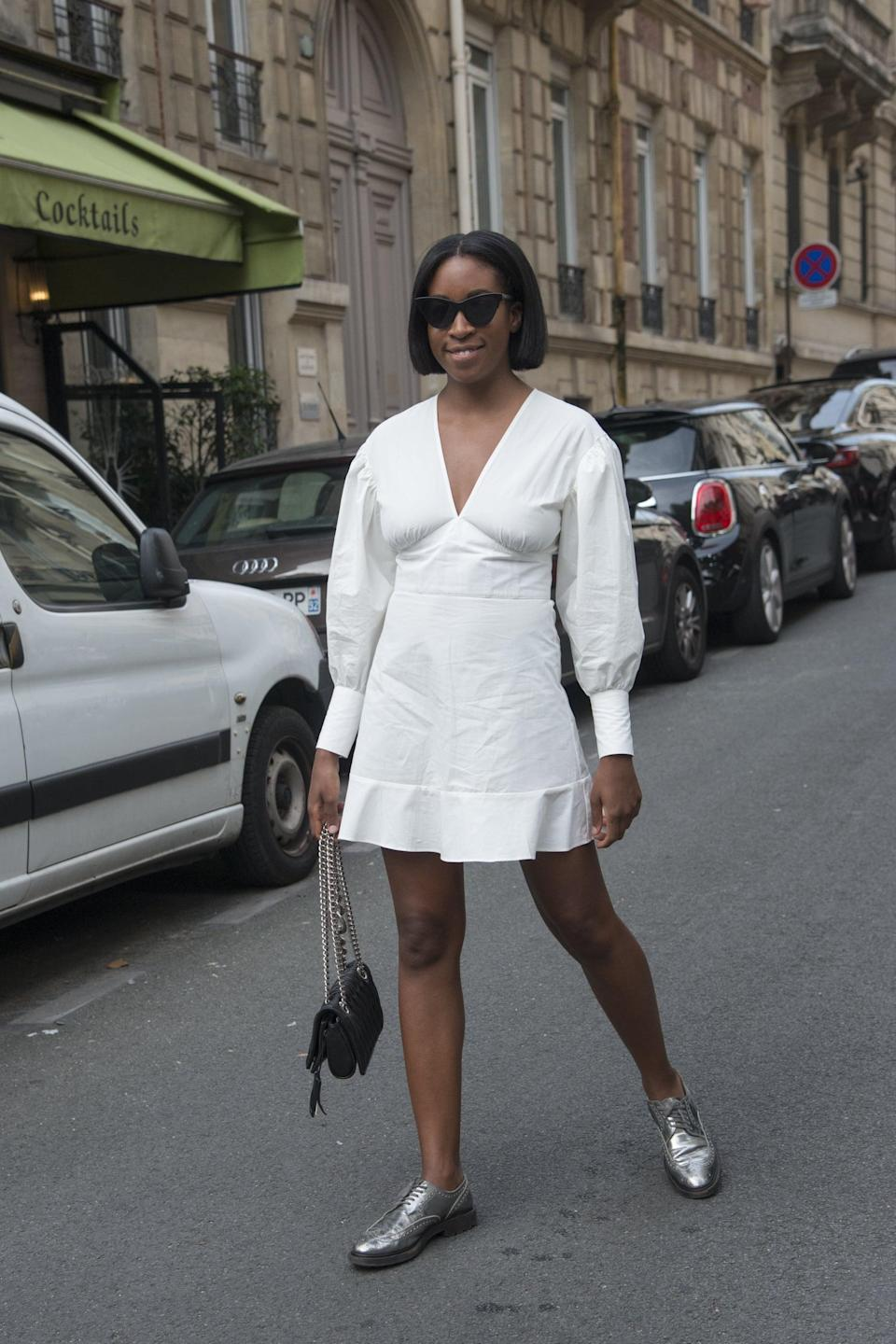 <p>Upgrade a breezy LWD with a pair of brogues. </p>