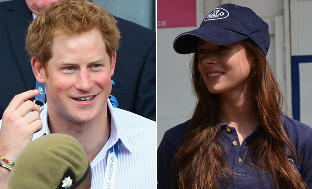 Prince Harry and Camilla Thurlow