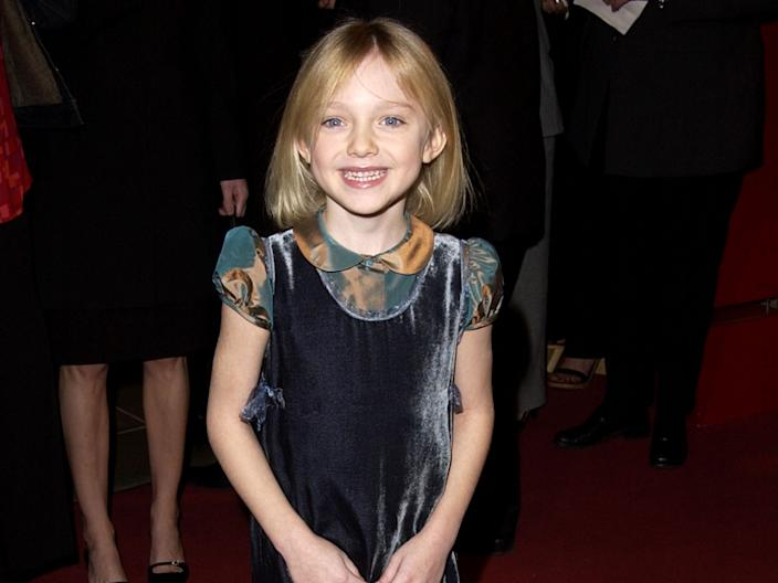Dakota Fanning in 2002.