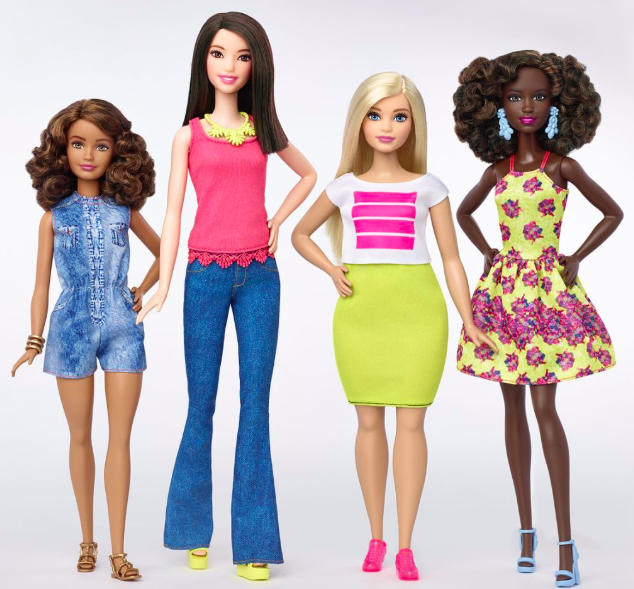 Barbie got a makeover in 2016. (Photo: Mattel)