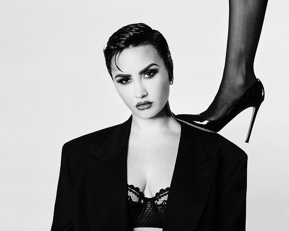 Demi Lovato and Allie Marie Evans photographed by Tyler Shields.