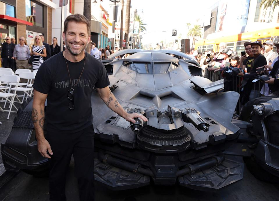 Zack Snyder seen at a ceremony honoring Batman creator Bob Kane with the 2,562nd star on The Hollywood Walk of Fame on Wednesday, October 21, 2015, in Hollywood, CA. (Photo by Eric Charbonneau/Invision for DC Comics/AP Images)