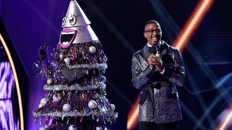 'The Masked Singer': The Tree Gets the Axe -- See Who Was Under the Festive Costume!