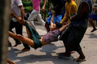 More than 80 people have been killed in Myanmar in mass protests since the military wrenched civilian leader Aung San Suu Kyi from power - a toll expected to rise dramatically