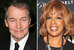 Charlie Rose, Gayle King | Photo Credits: Jordan Strauss/WireImage.com; Gary Gershoff/WireImage.com