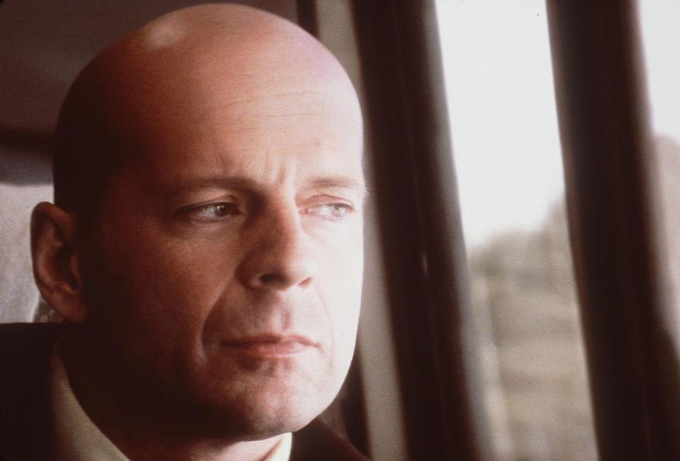 <p>Years before Bruce Willis began sporting the bald look for real — yes, there was a time when Willis had actual hair — the actor decided to shave his head for his role in <em>Unbreakable</em>. Perhaps, this is what convinced him to permanently ditch his locks?</p>