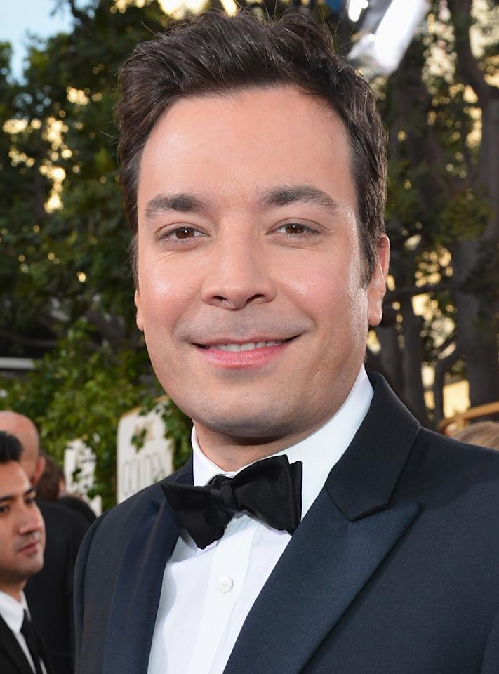 """<p><strong>Instagram handle: </strong><a rel=""""nofollow"""" href=""""https://www.instagram.com/jimmyfallon/?hl=en"""">@jimmyfallon</a></p>  <p>The <em>Tonight Show</em> host will take his talents to the Golden Globes stage for the first time ever. </p>"""