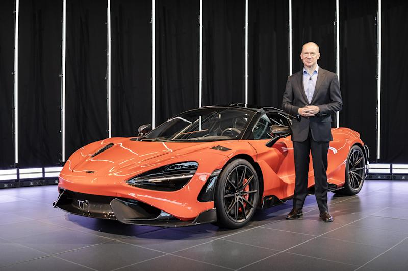 Supercar maker McLaren chief Mike Flewitt on why he may float on the stock market but will never build an SUV