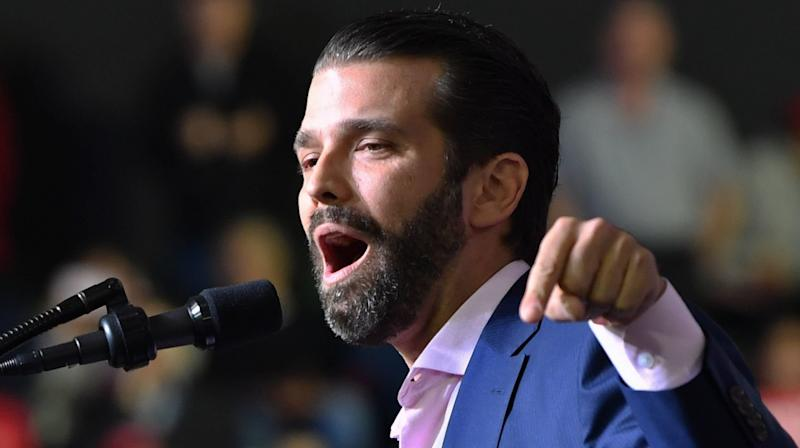 Don Jr. Gets An 'F' On Twitter After Slamming 'Loser Teachers' At Campaign Event