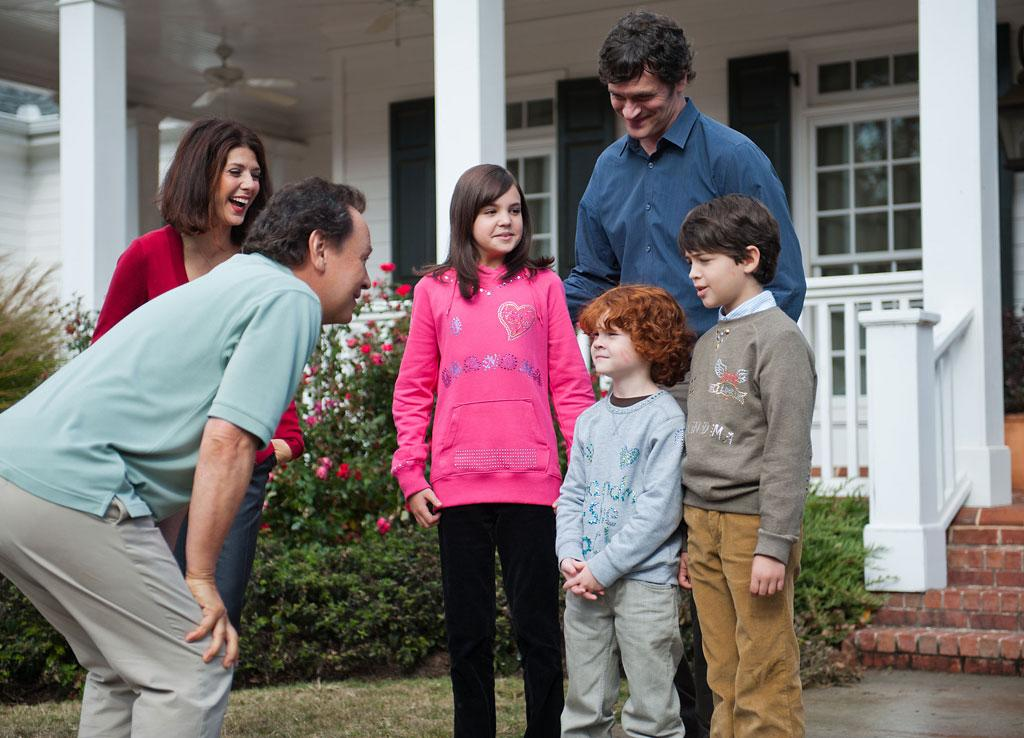 "Billy Crystal, Marisa Tomei, Tom Everett Scott, Bailee Madison, Joshua Rush and Kyle Harrison Breitkopf in Twentieth Century Fox' ""Parental Guidance"" - 2012"