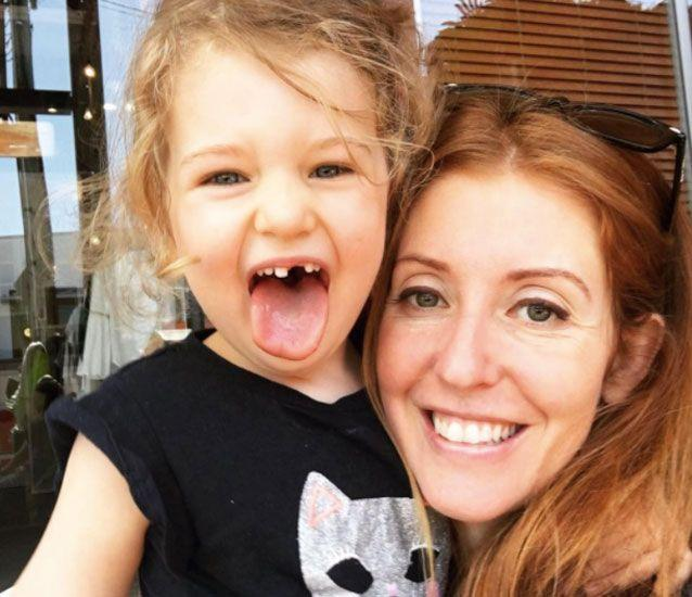 The mother-of-two says she struggles to lead a normal life with her daughter Eliya, now 4. Source: Supplied/ Amy Dawes