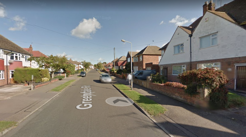 Greendale Road, Glen Parva, Leicester, where the man's body was found on Tuesday afternoon (Picture: Google Maps)