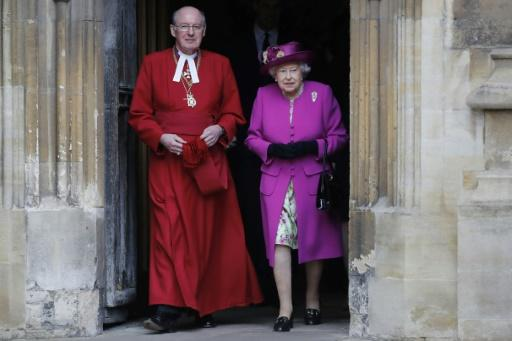 David Conner, seen here with the Queen, has been the dean of Windsor since 1998
