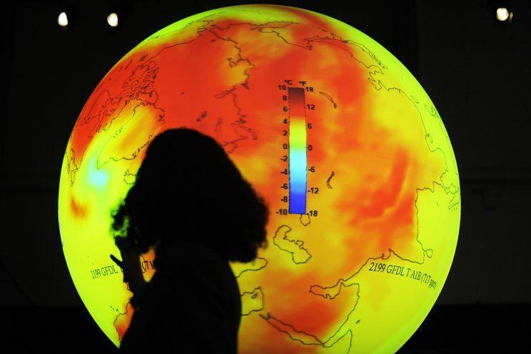 A scientist at the 2009 United Nations Climate Change Conference in Copenhagen. (Photo: Axel Schmidt/AFP/Getty Images)