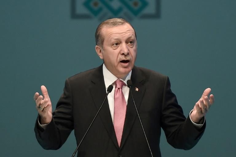"Turkish President Recep Tayyip Erdogan, speaking in Istanbul, also claimed Deniz Yucel, a correspondent for Germany's Die Welt newspaper who was detained on Monday, was a ""German agent"""