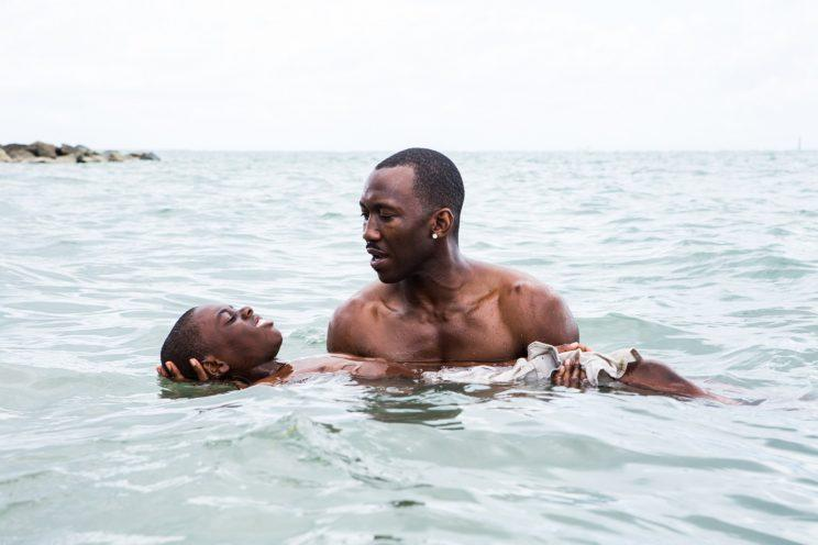 Mahershala Ali and Alex Hibbert in Oscar Best Picture winner 'Moonlight' (Photo: A24)