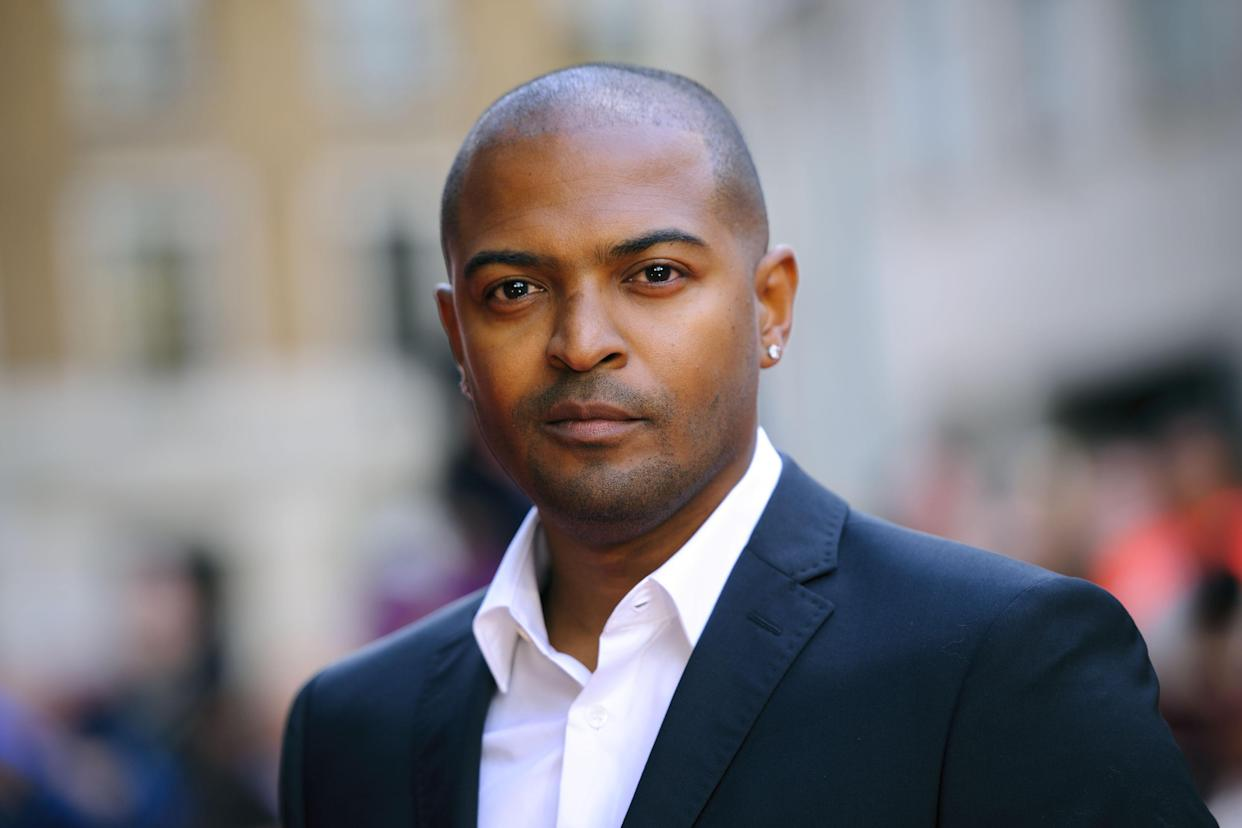 Noel Clarke arriving at the world premiere of Fast Girls at the Odeon West End in Leicester Square, London.