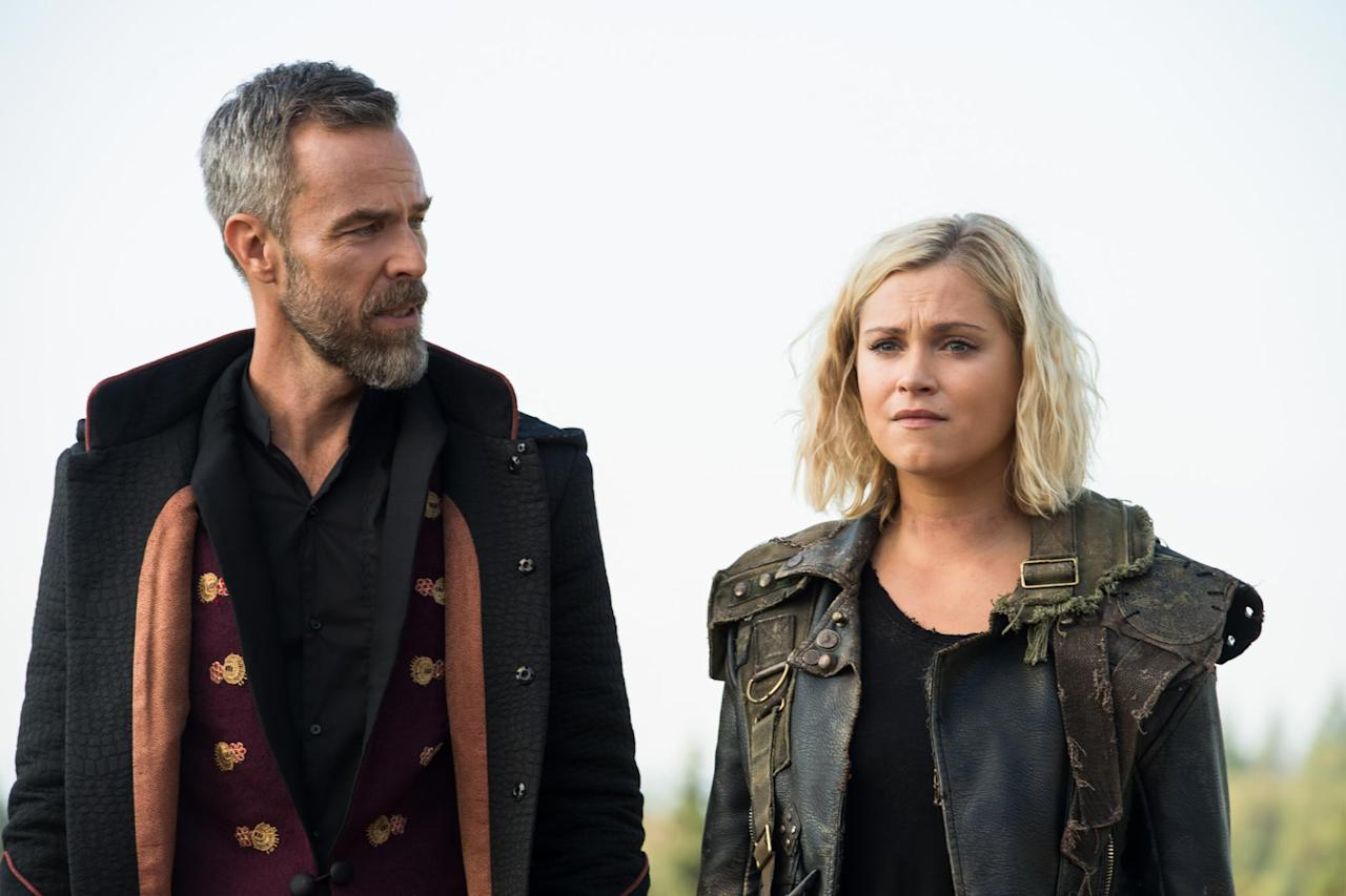 """<p>The CW's long-running sci-fi drama <a href=""""https://www.popsugar.com/entertainment/100-Ending-After-Season-7-46452334"""" class=""""ga-track"""" data-ga-category=""""Related"""" data-ga-label=""""https://www.popsugar.com/entertainment/100-Ending-After-Season-7-46452334"""" data-ga-action=""""In-Line Links""""><strong>The 100</strong> is ending with season seven</a>. And as sad as that news is, it's also weirdly perfect, since the show's set to end with episode 100.</p>"""