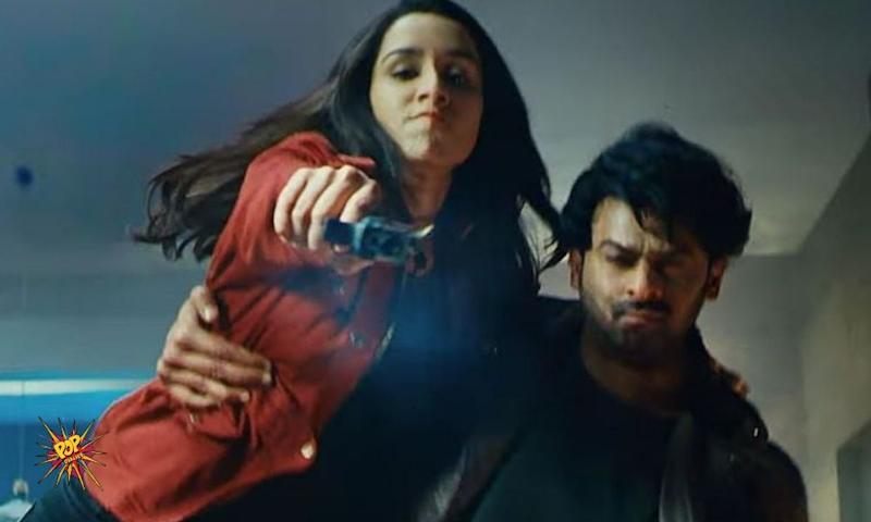 Beauty And Action Woman : Shraddha Kapoor Kicks Ass In The Trailer Of Saaho