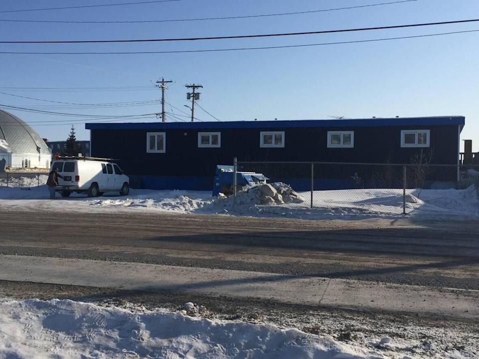 A COVID-19 outbreak was declared at Inuvik's homeless shelter on Wednesday. (Mackenzie Scott/CBC - image credit)