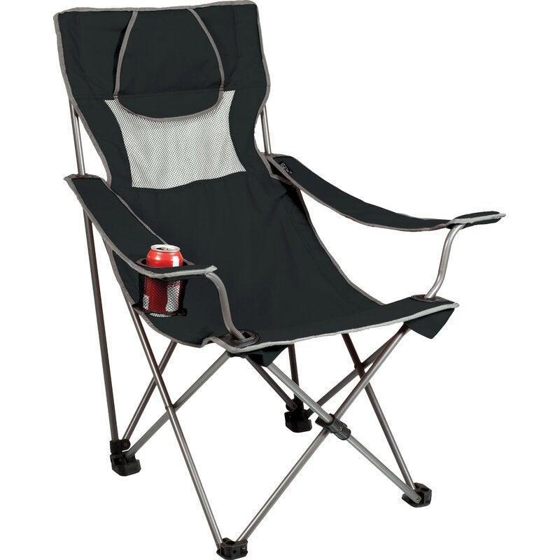 """<h2>ONIVA Campsite Folding Camping Chair</h2><br>If you like to swim with the fishes by day and romantically stargaze in nature by night, then ONIVA's two-in-one beach and camping chair might be your best bet. And, once you're outdoor adventure comes to a close, this folding furniture find can easily be packed up in the car with its very own condensed carrying bag.<br><br><em>Shop</em> <strong><em><a href=""""https://www.wayfair.com/brand/bnd/oniva-b43098.html"""" rel=""""nofollow noopener"""" target=""""_blank"""" data-ylk=""""slk:ONIVA"""" class=""""link rapid-noclick-resp"""">ONIVA</a></em></strong><br><br><strong>Oniva</strong> Campsite Folding Camping Chair, $, available at <a href=""""https://go.skimresources.com/?id=30283X879131&url=https%3A%2F%2Fwww.wayfair.com%2Foutdoor%2Fpdp%2Foniva-campsite-folding-camping-chair-pct3497.html"""" rel=""""nofollow noopener"""" target=""""_blank"""" data-ylk=""""slk:Wayfair"""" class=""""link rapid-noclick-resp"""">Wayfair</a>"""