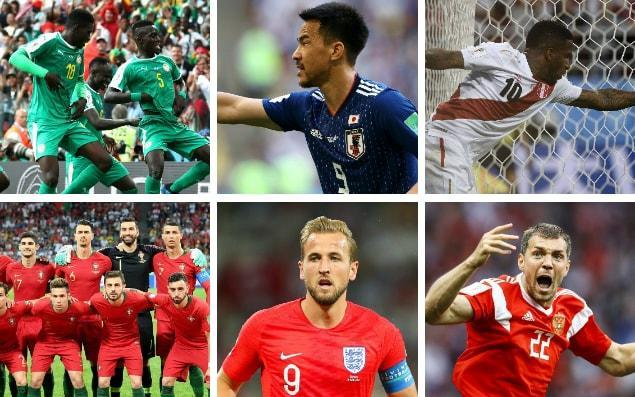 What a World Cup it's been! Penalties, VAR, own goals, counter-attacks and just lots of lovely goals all over the place - it's been great fun. But who has impressed so far? Who looks good to make it all the way to the final? Are there any surprises? Having watched every single game so far, here's a run-down of all 32 teams. 32. Saudi Arabia The Saudi Arabia team full of hope before their hapless 5-0 thrashing against the hosts Credit: Getty Images After a promising opening five minutes full of Barcelona-esque tip-tap football and fluid movement, Saudi Arabia put in one of the worst international performances I've ever seen. The centre-backs couldn't string a pass together, the wide players showed some fantastic first-touches and then gave the ball away immediately, offered no threat going forward and let an extremely ordinary Russia score five past them. If they'd been playing Mexico the referee would probably have stopped the game 60 minutes in to prevent it becoming a humanitarian crisis. 31. Panama Roman Torres turns away from Belgium's goal celebrations Credit: AFP Tried really hard, were fortunate with some refereeing decisions but ultimately offered little resistance to Belgium, who made Panama look better than they are by hitting aimless long balls and being sloppy in midfield. Had a few promising moments but won't get out of the group. 30. South Korea Son Heung-min (right) after South Korea's defeat to Sweden Credit: AP Undone by a (correct) VAR decision, South Korea can't really complain about their opening game defeat. They hardly got going, Son Heung-min was barely in the game and the defensive 4-4-2 shape meant they were barely able to construct passing moves that might concern the equally dull Sweden they were up against. 29. Nigeria Victor Moses argues with the referee over the penalty awarded to Croatia Credit: Getty Images Ahorrible performance from a group of players who didn't seem to grasp quite how important their opening game at the World Cup was. Whether the manager's fault or those in green shirts, there was no urgency, no great surge to try and rescue a point, an isolated striker and full-backs who weren't allowed to get forward. Nigeria should be so much better than this. 28. Costa Rica Costa Rica's Keylor Navas's performance was the strongest in his team, but still couldn't stop this Serbian free kick Credit: Getty Images Didn't have the quality to lay a glove on Serbia but worked hard, were organised and showed some real glimpses of skill. Bet their entire betting account that targeting Branislav Ivanovic would yield goals, it didn't happen, Serbia scored two. Unfortunate but that their goalkeeper was the standout once more tells a story. 27. Iran Iran were the undeserving winners of their first tie against Morocco Credit: Getty Images Boring to watch. Scrappy, broke up play with constant fouling and sat in a low block to frustrate Morocco... then stole the three points at the end without having a shot on goal (an own goal decided it). Possession: Morocco vs Iran Organised and difficult to break down but don't really have anything in attack that will concern opposition. 26. Egypt Mo Salah was unable to contribute to his side's opening loss against Uruguay Credit: AP Frustrated Uruguay throughout, remained compact and kept two strikers up to try and counter-attack if they could get hold of possession. Did well to contain Uruguay's attacking talent but clearly missed their talisman Mo Salah to take advantage of turnovers. He returned for the defeat to Russia but looked some way short of his best and Egypt, unfortunately, look likely to be heading home soon. 25. Morocco A last minute Iran winner left Morocco heartbroken at the end of their first match of the tournament Credit: AFP Devastated by that defeat to Iran, Morocco were bright going forward, carved out chances but were undone at the last by that own goal. They press high, keep possession well and are forward-thinking on the ball. Need that to pay dividends against Portugal. 24. Poland Credit: AFP Nothing if not disappointing. Were thoroughly undone by Senegal and offered little imagination, passing sideways, leaving it until the final five minutes to actually show some attacking passion. Robert Lewandowski could hardly get on the ball but it was a poor team performance rather than his. Much work to do. 23. Sweden A penalty decided Sweden's first tie against South Korea Credit: Getty Images A 4-4-2, attack down the channels, hit the ball in the box for the strikers... and they beat South Korea with a penalty. Nothing particularly exciting going on here but it's a solid team lacking any real stars. Seb Larsson's set piece delivery will be key going forward. 22. Peru Peru were strong in their opener but without reward as they lost to Denmark Credit: Getty Images A lovely team to watch. Fizzed around the pitch, sent runners into space constantly and were unfortunate to be caught on the counter-attack just the once to allow Denmark's winning goal. 21. Tunisia Tunisia were beaten by England on set pieces Credit: Getty Images Really good with the ball, adapted to England's threats quickly (tactically adept) and broke up play when necessary. Unlucky to concede at the end but were second best to every set piece. 20. Japan Japan caused an upset, beating Colombia's 10-man team Credit: Getty Images Catapulted into a huge advantage with an early red card for Colombia's Carlos Sanchez and took it. Some excellent forward play and Shinji Kagawa was particularly impressive along with Takashi Inui. Can definitely get more out of this group. 19. Colombia Carlos Sanchez was shown the first red of the tournament Credit: AP Going down to 10 men wasn't a great start and it's hard to accurately evaluate Colombia. James Rodriguez not being fully fit was always going to make a difference but any team made to play 87 minutes without one of their key players is going to struggle. As it was, Colombia did pretty well and were close to getting a draw. 18. Denmark Denmark did well to get past a creative Peru side Credit: AFP Nothing special but put in a disciplined display and got the job done. Had to run a lot to deal with an effervescent Peru and Christian Eriksen was by far their main threat. If he can be marked out the game there's not much creativity in the side. 17. Australia Australia were unlucky to not at least get a point from their tie against France Credit: Getty Images Deserved a point against France. Kept the ball, played out from the back and created chances to score from open play but particularly at set-pieces, which is where their real threat comes from. Entirely capable of getting results against Peru and Denmark. 16. Serbia Aleksandar Mitrovic (left) was strong upfront for Serbia Credit: Getty Images Strong defensively and, in Aleksandar Mitrovic, up front too. The striker got himself into several goalscoring positions thanks to balance and power but his finishing let the side down. Had he found the target, Serbia would have won by more than the one goal that beat Costa Rica. Can create chances from a variety of places and defended well, despite the ageing Aleksandar Kolarov and Ivanovic being targeted at full-back. 15. Senegal Credit: REUTERS Organised, calm in possession and rapid on the counter-attack, Senegal were great against Poland and deserved their win. On paper they have everything to go far and on the pitch they look a dangerous outfit, creating heaps of chances, easily burning past defenders on the wing and shutting down Poland attacks early. 14. Uruguay Luis Suarez under-performed against Egypt Credit: Reuters Lacked width against Egypt and Luis Suarez was dreadful buuuuuuut got the job done and looked strong defensively. If Suarez can sort his form out and the manager can figure a way to better create chances, the excellent defence will provide the basis of a team who can go far in this tournament. 13. Iceland Iceland contained Lionel Messi well enough to take a point in their first tie of the tournament Credit: Reuters Really well drilled, entirely happy sitting in a low block and frustrating their opponents but knew when to move into attacking positions themselves, transitioning well on turnovers in possession. Made Lionel Messi look pretty ordinary. 12. Argentina Messi's Argentina looked far from where they need to be to be real contenders in Russia Credit: Getty Images Don't seem to know quite what sort of team they should be, or even what the best lineup is. The only certainty is that they are entirely reliant on Messi. Everything went through him or to him, to the point it was probably detrimental to the team. Nobody else seemed able to scare Iceland and they ran out of ideas quickly. Still though. Messi. You know. 11. Germany The world champions got a shock to the system as Mexico beat them 1-0 in their first match of the group stage Credit: AFP Took a suicidal tactical approach, looked disjointed and got the very worst out of Mesut Ozil. This performance was like Arsenal in their usual mid-season slip-up and there is absolutely no way that Joachim Low can allow another one like it if Germany want to stay in the World Cup, let alone win it. That said, some of the attacking play was excellent and in theory the tactical plan made sense. Mexico were just too good. 10. Croatia Luka Modric was unsurprisingly a big influence in the midfield for Croatia Credit: AP Hard to evaluate after being afforded something close to a training game against Nigeria but the defence works well as a unit, Luka Modric and Ivan Rakitic completely ran the midfield and when able to attack in their 4-2-4 shape, created heaps of chances. 9. Russia Russia opened the tournament with a bang in their 5-0 win over Saudi Arabia Credit: Getty Images Perhaps the biggest surprise at all so far in this tournament, Sat coiled like a spring against Saudi Arabia but even a slinky would have caused damage. Quick counter-attacks and a a wave of momentum was enough to mark Russia's arrival at their own World Cup. Rode that wave into an impressive win against Egypt, powering away from their opponents after being gifted the lead through an own goal. Tougher tests await, but who knows how far their own support can carry them? World Cup 2018 | Fixtures, groups, squads and more 8. France France got the result they wanted, but will need to do better against stronger teams in the draw Credit: Getty Images A talented bunch of players rather than a team at the moment and Didier Deschamps seems to approach things far too cautiously. Didn't get it right against Australia, who deserved more than the zero points they won. A change of approach going forward should/could make France much more entertaining - and better. 7. Belgium Belgium's 'Golden Generation' were lacklustre in their tournament opener Credit: Getty Images Disjointed, struggled to build play and far too static off the ball for much of the first half but looked a menace after switching to a more conventional 4-2-3-1 shape in the second half. They scored their third almost immediately after that change. The quality of player they have to select from means they'll cause anyone problems but the performance against Panama was stupidly reminiscent of old Golden Generation England teams. So much promise, so little delivery. 6. Switzerland Switzerland caused more problems for Brazil than most anticipated they would Credit: Getty Images Came into the tournament underrated but don't look like they'll leave that way. Handled Brazil's attacking threat with dogged, disciplined defending and some great organisation then focused their attacks down the left. Xherdan Shaqiri continues to frustrate but there's a good average skill level of player in the team. 5. England Gareth Southgate's (left) plans are still on track thanks to Harry Kane's 91st minute winner Credit: AP Refreshingly calm and composed, a system that suits the players and a team which entertained while grinding out a 2-1 win. Harry Kane is an exceptional talent and while there are clear flaws in Gareth Southgate's team, they were genuinely impressive and fun to watch. It doesn't even feel right to type that. Also, if you feel like this might be classic 'getting ahead of themselves' media patriotism, please bear in mind that this writer is Scottish. 4. Brazil Neymar's Brazil will be looking to improve on their draw in the next round of the group stage Credit: Barcroft Images A little more subdued than we might have expected but some of the passing moves were wonderful to watch. Dropped deep immediately after scoring rather than going for the kill and may have suffered for it 3. Mexico Celebrations in Mexico over their national team's victory against Germany set off earthquake sensors Credit: AFP Absolutely fantastic to watch. Mexico got their gameplan spot on and were electric from kick-off, opting for a brave tactic that pushed three forwards high up the pitch to prey on Germany's vulnerability to counter-attacks. The speed of attack, skill on the ball and the impressive way Mexico dealt with Germany's own attacks will leave the rest of Group E fearful. Will that harm their chances of counter-attacking? Very probably. It will be interesting to see how they can adapt their game to more cautious opponents. 2. Portugal Cristiano Ronaldo's hat trick snatched Portugal a point against Spain Credit: Getty Images Team Ronaldo were expected to defend in numbers, frustrate and rely on counter-attacks and set pieces for goals. Then they went and put three past Spain. They showed a different side to their game, an ability to mix things up and in Ronaldo, that they have the best player in the entire tournament. 1. Spain Spain's less than ideal start to the tournament, with the sacking of their manager, was matched by their draw against Portugal - where Diego Costa netted two of their three goals Credit: Getty Images It felt like a defeat in the end but it's important to remember what really happened. A penalty, a goalkeeper error and an incredible free-kick were what forced Spain into a draw but for the most part, they produced some stunning football and will improve now the opening match jitters are done with. Diego Costa finally looks like he suits the team while Isco, David Silva and Iniesta controlled the midfield. Maybe the manager isn't that important after all. World Cup whatsapp promo