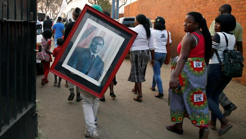 African leaders gather in Zimbabwe for Robert Mugabe's state funeral