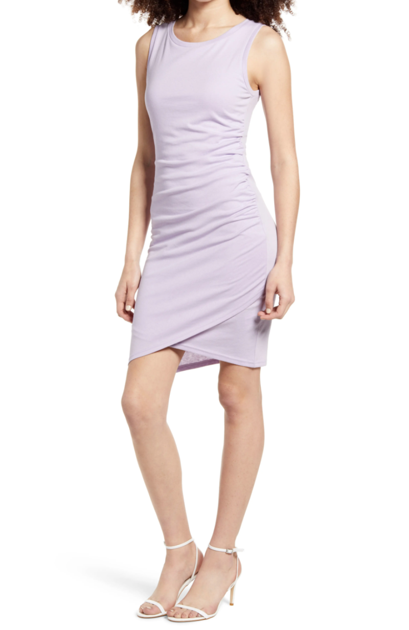Ruched Body-Con Tank Dress. Image via Nordstrom.