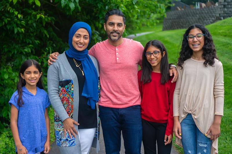 Ibrahim Moiz, a candidate for the Loudoun County Board of Supervisors, said his wife was accosted at a local shop by someone shouting anti-Muslim comments. (Photo: Zak Elyazgi)