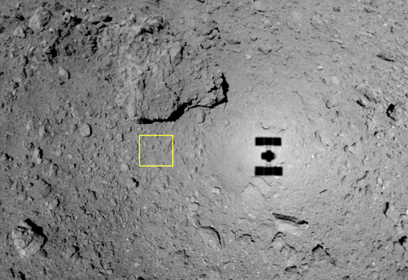 Hayabusa 2 blasts surface of Ryugu asteroid to form crater:The Asahi Shimbun