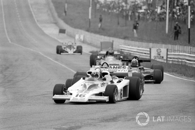 """Tom Pryce, Shadow DN8 <span class=""""copyright"""">Sutton Images</span>"""