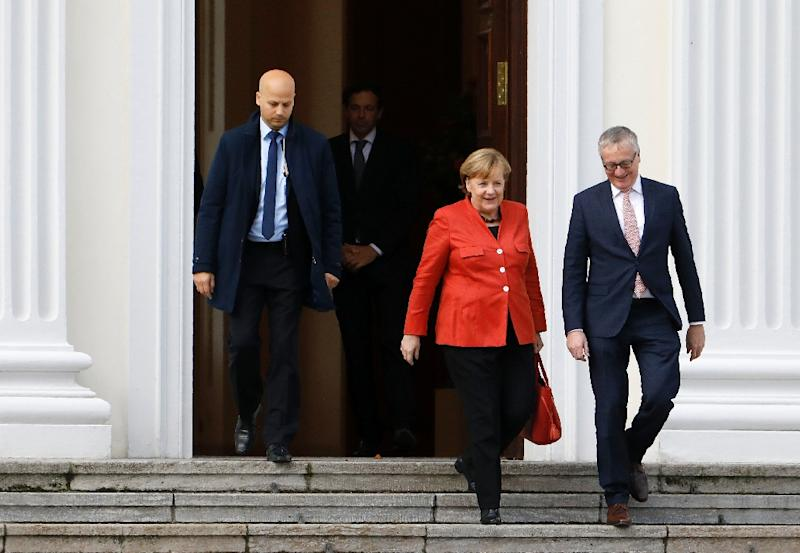 German president summons grand coalition partners for talks