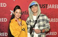 <p>These two celebrities decided to just dress up as two <em>other </em>celebrities! Jenna Ortega and Asher Angel rocked their best Ariana Grande and Pete Davidson looks at Just Jared's 2018 Halloween party.</p>