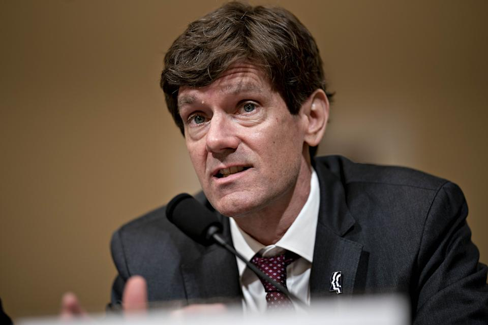 Thomas Dobbs, state health officer with the Mississippi State Department of Health, speaks during a House Homeland Security Subcommittee hearing in Washington, D.C., U.S., on Tuesday, March 10, 2020. (Andrew Harrer/Bloomberg via Getty Images)
